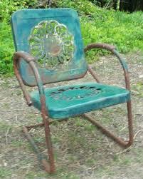 Vintage Patio Furniture Metal by 61 Best Vintage Retro Metal Lawn Furniture Images On Pinterest