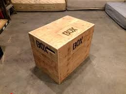 how to build an easy 3 in 1 crossfit jump box with a single sheet