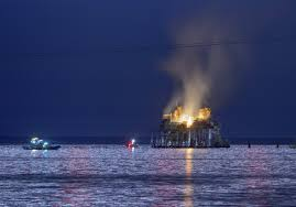 1 missing after oil rig explodes on louisiana lake pittsburgh