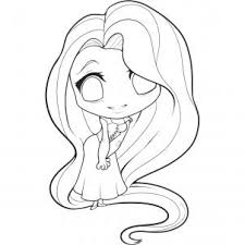 siirus draw chibi rapunzel tangled
