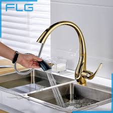 Buy Kitchen Faucet 126 14 Buy Free Shipping Pull Out Gold Kitchen Faucets And