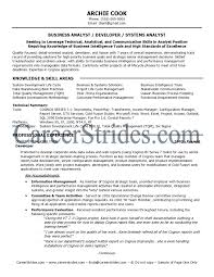 sample resume cook best solutions of cognos business analyst sample resume in summary best ideas of cognos business analyst sample resume on download proposal