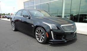 black cadillac cts black 2016 cadillac cts v for sale