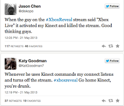 Xbox Live Meme - onstage xbox one kinect commands cause trouble for xbox 360 kinect