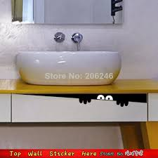 toilet stickers paster paper wateproof pvc wall