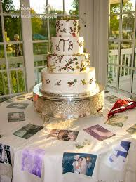 Wedding Cake Table Icing On The Cake Table Diy Photo Tablecloth For Your Big Day Or