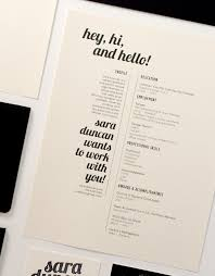 Examples Of Professional Resumes by 27 Minimalist Examples Of Rã Sumã Designs Designbump