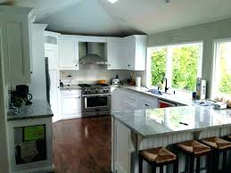 small l shaped kitchen designs with island small l shaped kitchen design island how to build a with seating