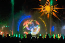 world of color season of light see how disney s world of color changed for the holidays orange