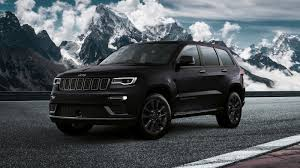 jeep grand cherokee 2017 blacked out the jeep grand cherokee s is a special edition model only for europe