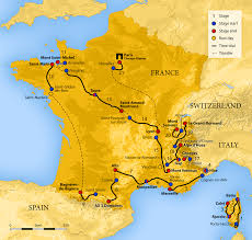 Map Of South Of France by 2013 Tour De France Wikipedia
