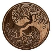 tree of yin yang tote bag spreadshirt