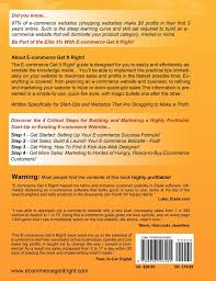 e commerce get it right essential step by step guide for selling