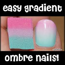 create an easy ombre manicure at home 3 steps