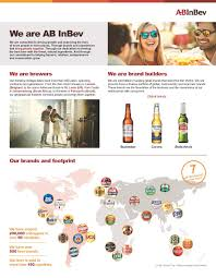 About About Us Ab Inbev