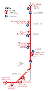 Unc Medical Center Chapel Hill Nc Route 4 Piedmont Authority For Regional Transportation