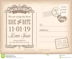 wedding invitations and save the dates vintage postcard save the date background for wedding invitation