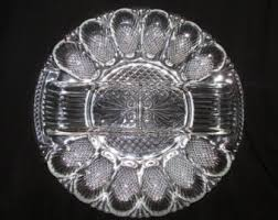 antique deviled egg plate from the to the new by thinkoz on etsy
