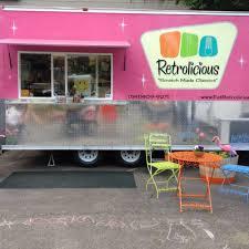 Portland Food Carts Map by Retrolicious Portland Food Trucks Roaming Hunger