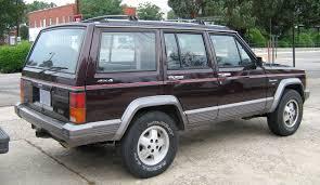 nissan jeep 2000 file jeep cherokee xj 4d laredo burgundy sop rr jpg wikimedia