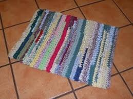 Crochet Doormat Runner Rag Rug Of Many Colors Super Easy Crochet Part 1 Youtube