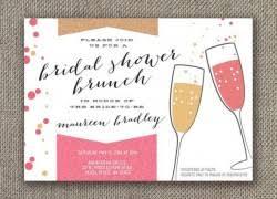 bridesmaids brunch invitations bridal shower invites plumegiant