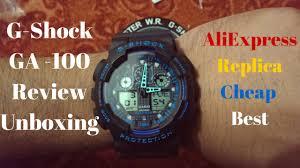 Aliexpress India by Casio G Shock Ga 100 Replica Aliexpress Review Unboxing