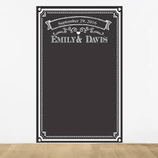 wedding backdrop personalized chalkboard personalized photo booth backdrop chalkboard favors