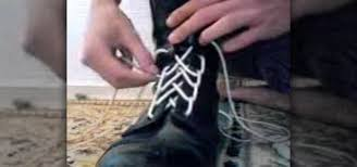 shoelace pattern for vans how to tie your shoes with a spider web shoelace style fashion