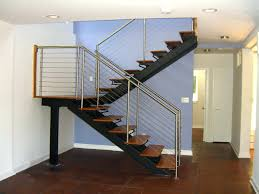 interior balcony and stair railing basement handrail ideas height