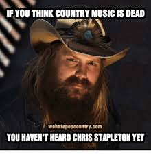 Meme Chris - if you think countrymusic isdead wehatepopcountrycom you haven t