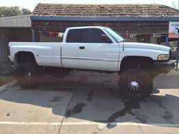 1997 dodge ram 3500 diesel for sale find used 1997 dodge 4x4 3500 lifted cummins dually cab