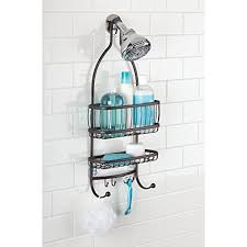 Interdesign Bathroom Accessories Interdesign York Lyra Bathroom Shower Caddy For Shampoo