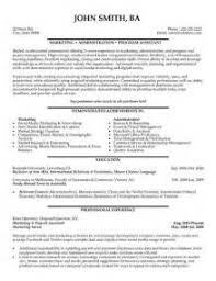 Resume Samples For Administrative Assistant by Marketing Administrative Assistant Interview Thank You Letter In