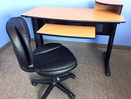 black small computer desktop table finding desk