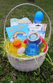 baby s easter gifts easter basket for my 9 month basket is filled with the