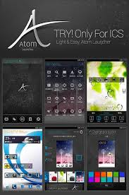 atom launcher apk app atom launcher spiffy now 1 2 atom s android development