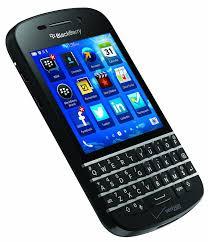 blackberry q10 black verizon wireless amazon com