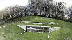 homes built into hillside house plan best of underground house plans free underground house