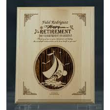 retirement plaque personalized wooden retirement plaque về hưu retirement