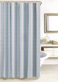 Stripe Shower Curtains Teal Striped Shower Curtain Home Design Ideas Max Studio 100