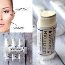 howdy highlighter organic contour makeup and cover up