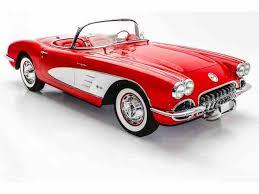 59 corvette convertible 1959 chevrolet corvette for sale on classiccars com 24 available