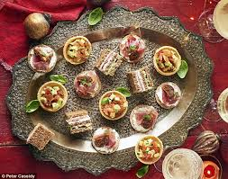 m canape prue leith s fabulous festive recipes great food daily mail