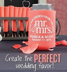 koozies for wedding custom wedding koozies wedding can coolers 2505399 weddbook