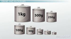 grams u0026 kilograms lesson for kids video u0026 lesson transcript