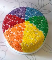 77 best rainbow cakes images on pinterest birthday cakes
