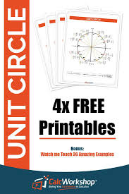 top 25 best unit circle trigonometry ideas on pinterest trig