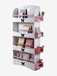 biblioth鑷ue chambre fille etagère bibliothèque ligne envolee blanc vertbaudet