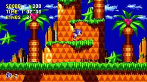 sonic cd apk sonic cd apk aptoide in description below